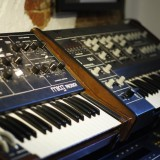 Moog Prodigy and Oberheim OB-1 - very agressive and powerful duo