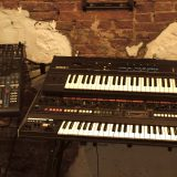 Roland Jupiter 8 and Ensoniq ESQ1