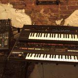 Roland Jupiter 8 and Ensoniq ESQ1